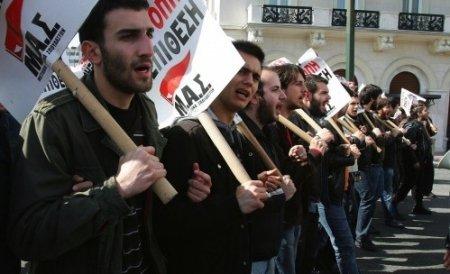 Grecia, paralizată de o grevă generală pe 11 Mai: Toate mijloacele de transport vor fi afectate