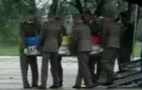 Trupul neînsufleţit al militarului român, decedat joi în Afganistan, a fost adus în ţară