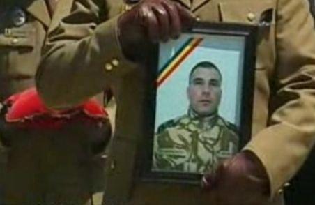Militarul român, ucis în Afganistan, a fost înmormântat în Craiova