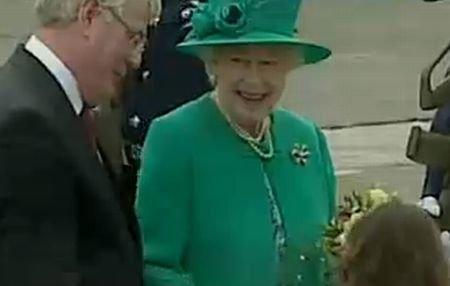 Vizită istorică: Regina Elisabeta a II-a a ajuns în Irlanda