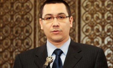Victor Ponta: USL decide sâmbătă dacă va onora invitaţia preşedintelui Traian Băsescu