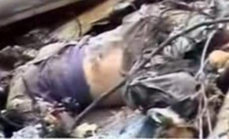Imagini şocante cu avionul prăbuşit la Hunedoara şi cadavrul pilotului