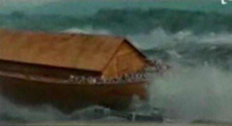 Proiect titanic. Un olandez s-a apucat să construiască o arcă a lui Noe
