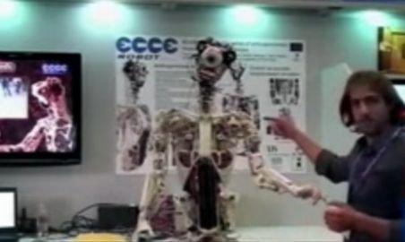 Ecce - primul robot din lume cu muşchi şi tendoane. Îşi poate corecta chiar şi greşelile