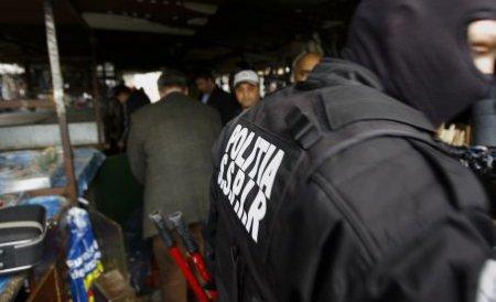 Razie la un depozit de carne şi produse din carne din cartierul bucureştean Militari