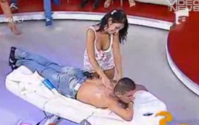 """Masaj erotic pentru Costin Mărculescu, la """"Un show păcătos"""""""