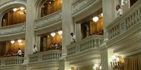 Parlamentarii şi-au angajat paznici la balcoane, după incidentul cu Sobaru
