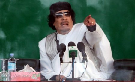 Gaddafi ameninţă că va ataca Europa dacă operaţiunea NATO din Libia continuă