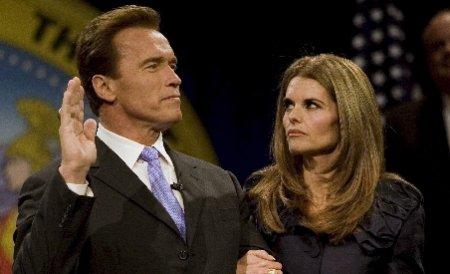 Maria Shriver a depus actele pentru divorţul de Arnold Schwarzenegger
