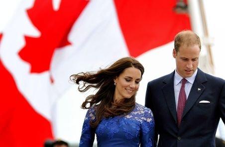 Prinţul William şi Kate Middleton au luat lecţii culinare de la bucătarii canadieni