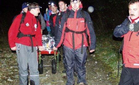 Cadavrul bărbatului dispărut  în Munţii Făgăraş în urmă cu nouă zile a fost găsit
