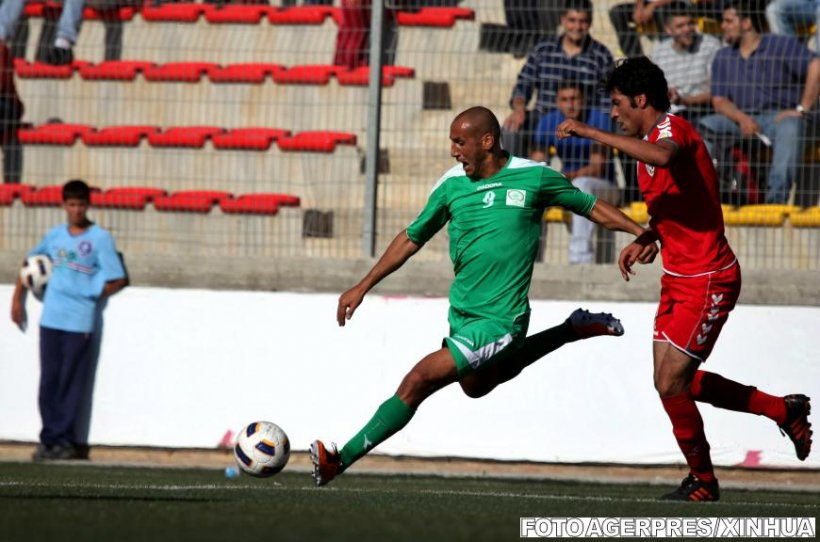 Zi istorică pentru fotbalul palestinian: Echipa naţională a jucat primul meci de calificare pe teren propriu