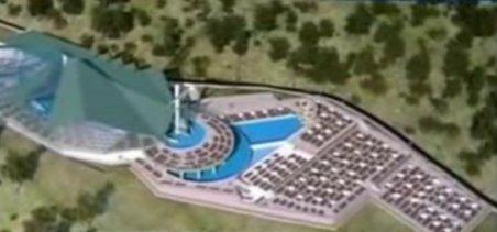 Udrea dă 15 milioane de euro pentru un parc acvatic la Băile Herculane