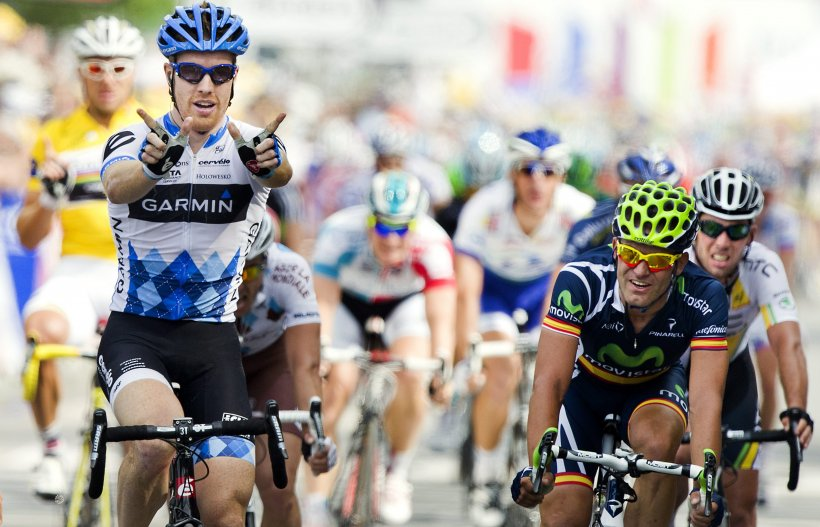 Victorie de 4 iulie: Americanul Tyler Farrar a câştigat etapa a 3-a din Turul Franţei