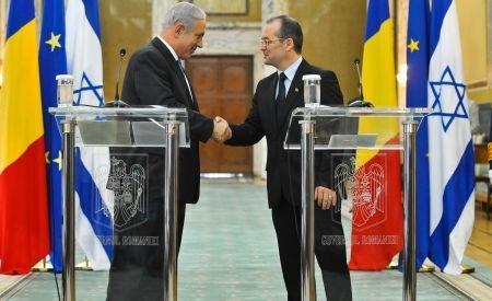Boc, către premierul israelian Netanyahu: Bine aţi venit, domnule preşedinte