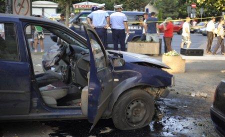 Maramureş. Un consilier local a intrat cu maşina în casa unui primar