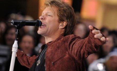 Legendara trupă Bon Jovi a ajuns în Bucureşti, pentru prima oară