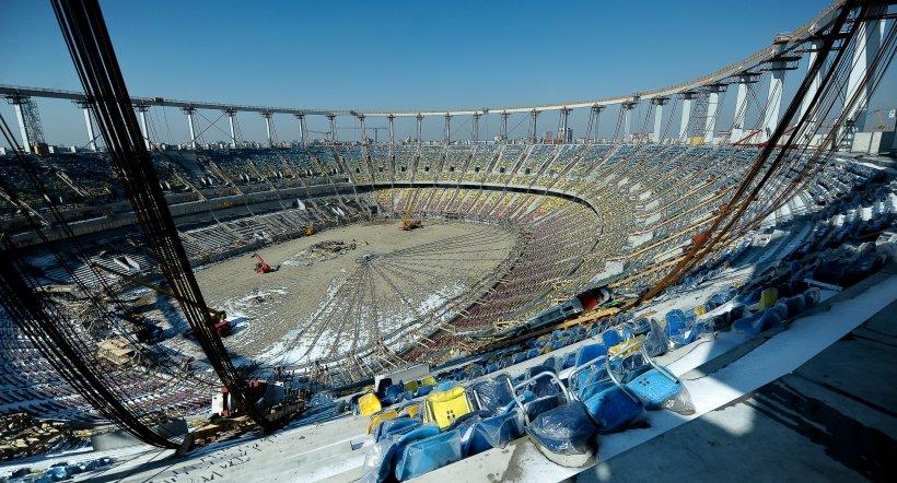 Ţintarul Ligii I va fi refăcut pentru introducerea cuplajelor pe Naţional Arena