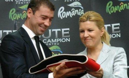 Elena Udrea: MDRT şi-a atins obiectivele prin parteneriatul cu Lucian Bute