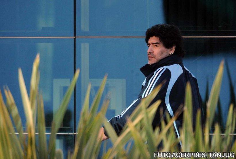 Maradona a ajuns la spital după ce a fost implicat într-un accident rutier