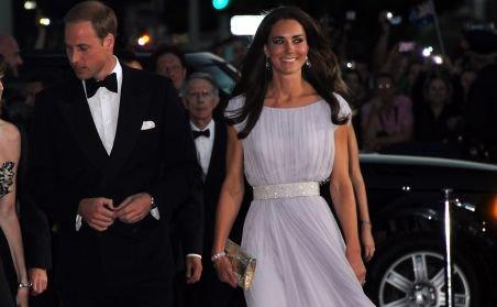 Prinţul William şi prinţesa Catherine au strălucit printre vedetele de la Hollywood