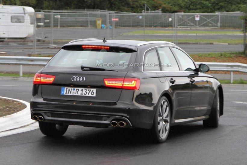 Audi S6 Avant, în primele imagini fără camuflaj