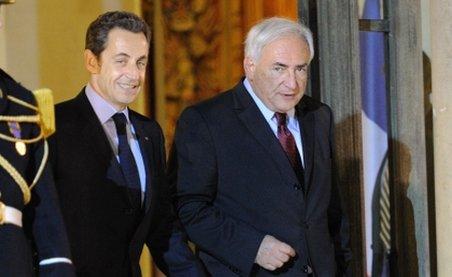 Sondaj: 54% dintre alegătorii francezi l-ar vota pe Strauss-Kahn ca preşedinte