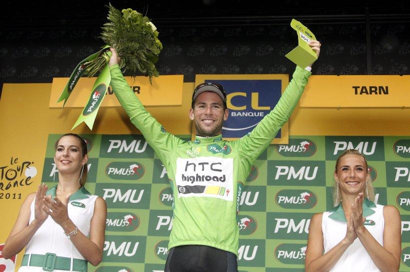 Mark Cavendish s-a impus în etapa a 11-a din Turul Franţei şi a preluat tricoul verde