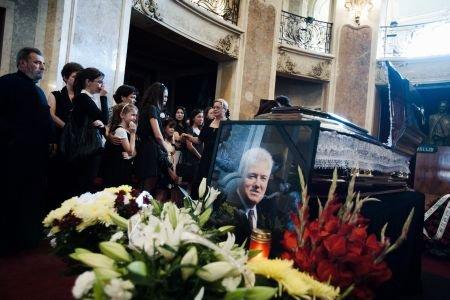Compozitorul Cornel Fugaru, înmormântat la Cimitirul Bellu din Capitală