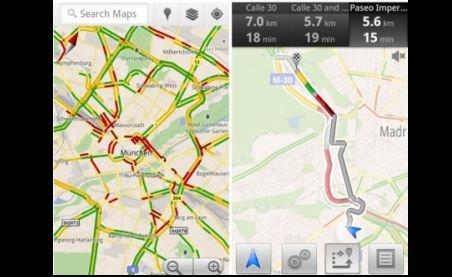 Nou serviciu Google: Informaţii în timp real din traficul european