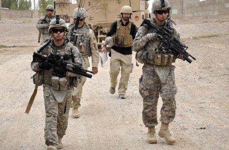 SUA retrage primii militarii din Afganistan: 650 din cei 100.000 de soldaţi au plecat