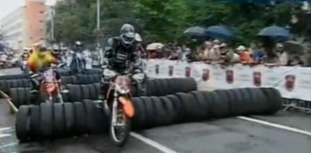 Sibiu. Motociclişti din toată ţara, la cel mai mare concurs de enduro din România
