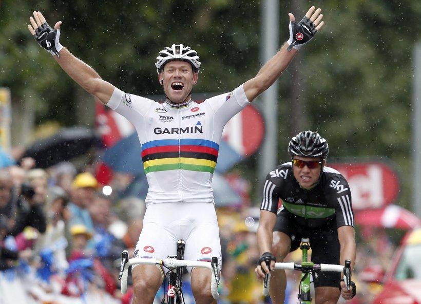 Turul Franţei: Thor Hushovd obţine a doua victorie de etapă. Contador câştigă timp în raport cu fraţii Schelck