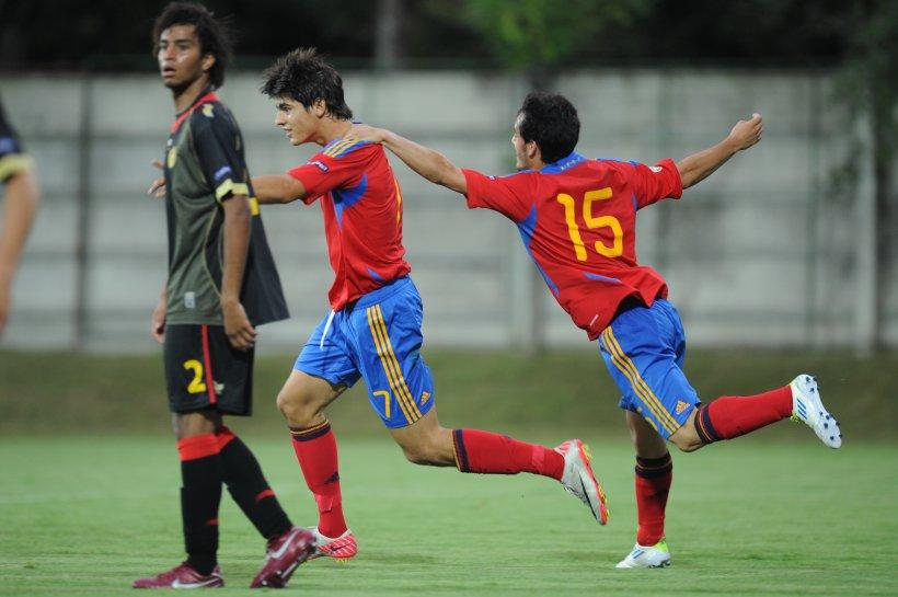 CE Under-19: Spania a învins Belgia cu 4-1