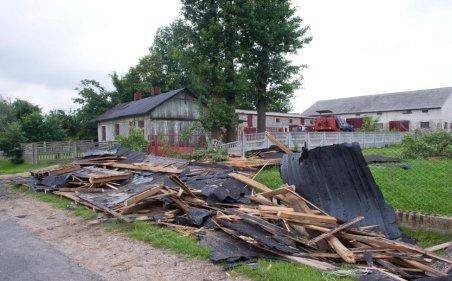 Furtuni în Ungaria şi Polonia. Un mort, mai mulţi răniţi şi pagube materiale semnificative