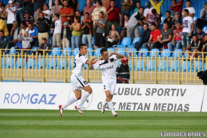 Gaz Metan Mediaş învinge cu 2-0 pe KuPS Kuopio şi se califică în turul 3 preliminar din Europa League