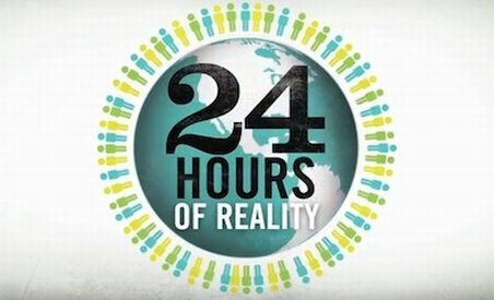 """Al Gore lanseză proiectul """"Climate Reality"""", ce va dezvălui în 24 de ore adevăratele probleme climatice"""