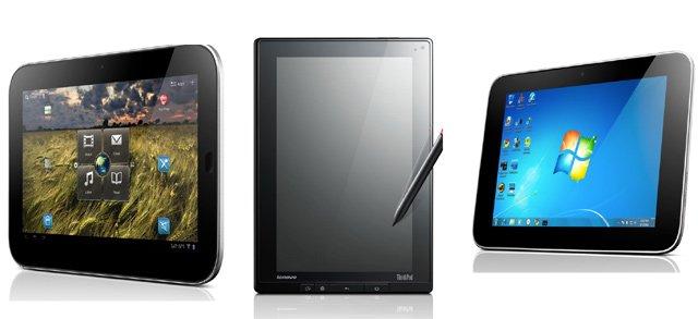 Lenovo lansează două tablete cu Honeycomb 3.1 şi una cu Windows 7