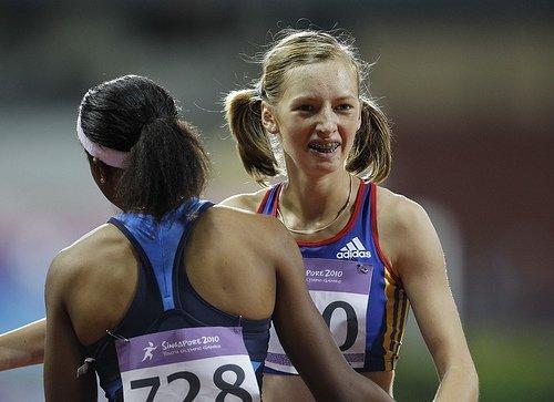 """Bianca Răzor, medaliată cu aur la 400 de metri, la """"Europenele"""" de juniori"""