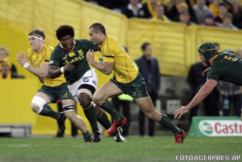 Australia a învins Africa de Sud cu 39-20 în meciul de deschidere al Tri Nations