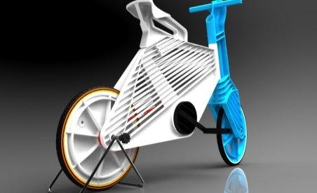 """""""Frii"""" - bicicleta eco construită din materiale plastice reciclabile"""