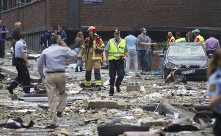 Şase polonezi, suspectaţi de legături cu atentatele din Norvegia, reţinuţi la Oslo