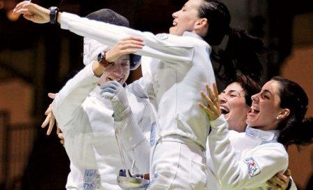 Spadasinele române au cucerit aurul şi la Rio. Secretul: Odihnă în avion, antrenament pe aeroport