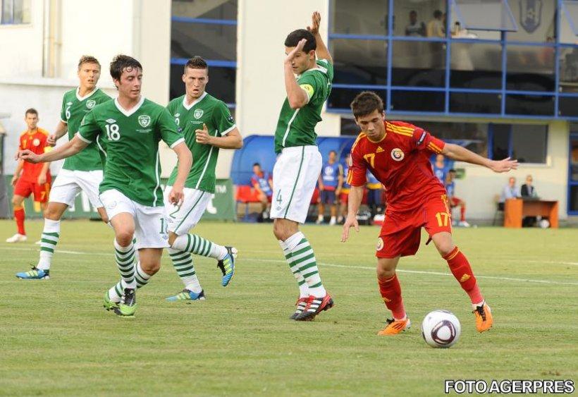 CE Under-19: România a remizat cu Irlanda şi a ratat calificarea în semifinale