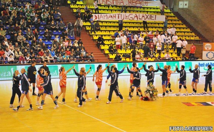 Echipele feminine româneşti şi-au aflat adversarele din cupele europene la handbal