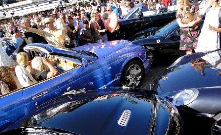Cel mai costisitor accident din lume, provocat în Monaco de o şoferiţă blondă