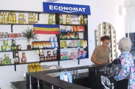 Economatele vând produse mai scumpe ca hipermarketurile