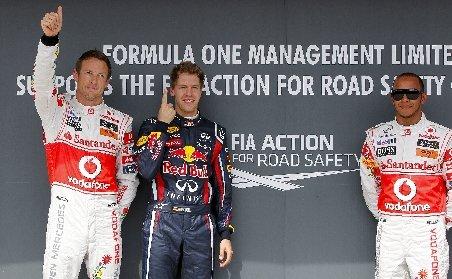 Formula 1. Sebastian Vettel câştigă al optulea pole position al acestui sezon