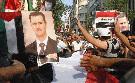 Circa 123 de oameni au fost ucişi după ce mai multe tancuri siriene au intrat în oraşul Hama