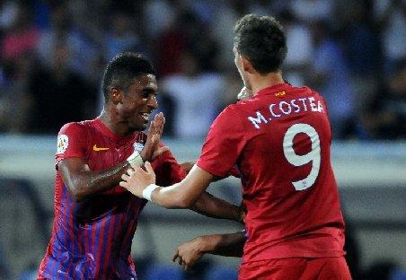 """Steaua se impune la scor, 4-0 cu Mioveni în primul meci disputat """"acasă"""""""